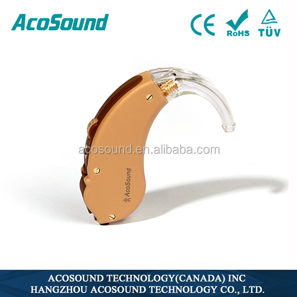 China Low Price AcoSound Acomate 410 BTE New Medical Ear Sound Amplifier hearing aid