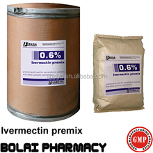 Water soluble drugs 0.6% Ivermectin Premix