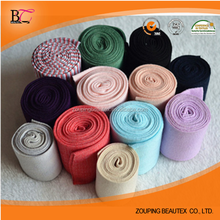 Cotton tubular seamless 1x1 rib fabric for sleeves