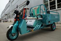 cargo Electric tricycle with wagon for sale