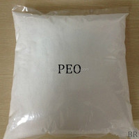 high Molecular weight Polyethylene Oxide PEO powder price PEO plastic raw material