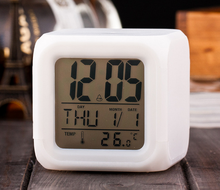Promotion date and day flip clock, digital day date clock