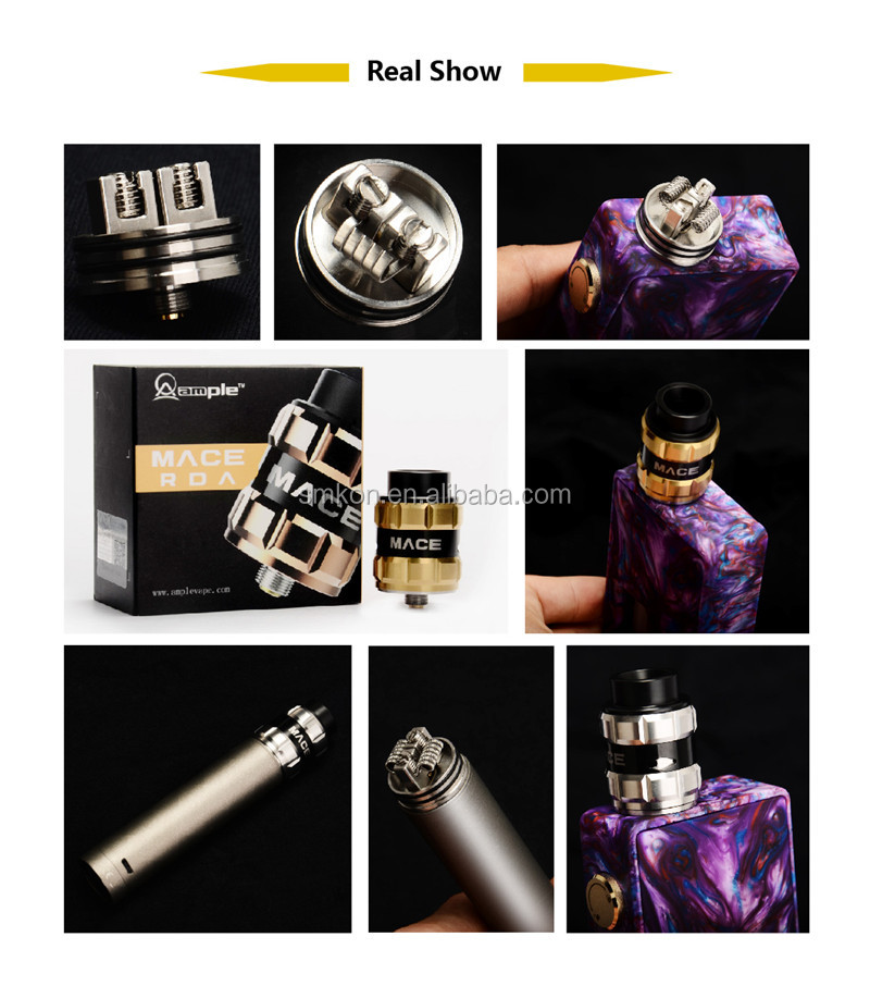 vape cartridge packaging Ares Pods from Ample Vape Mace-X Tank