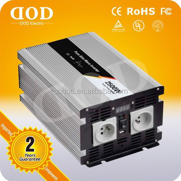 dc to ac hybird home inverter 2kw frequency converter