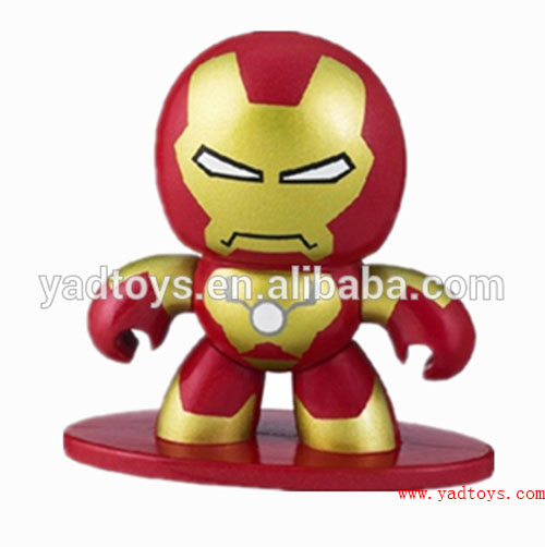 OME Iron Shaking Head Man Action Figure Toys