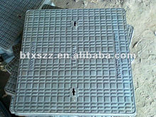 Road equipment foundry iron covering plate