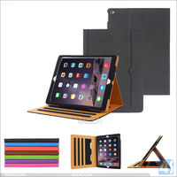 "New Black Tan for iPad Pro 7th Gen 12.9"" (Launched 2015) Leather Case tablet cover"