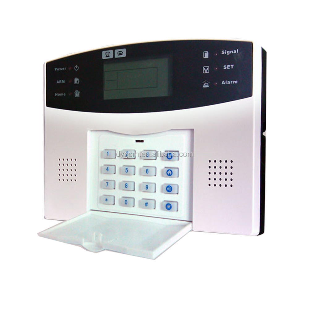 99 zones LCD GSM alarm home security alarm system, gsm alarm security wireless