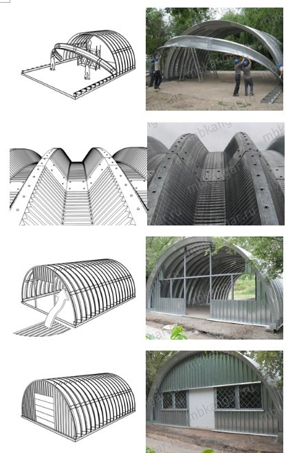 Galvanized Arch Steel Building Roof Sheets Buy Zinc
