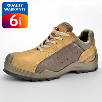 China best selling suede leather safety shoes