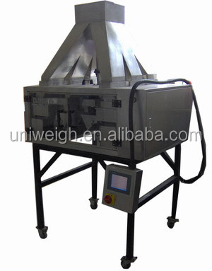 4 Head lineary granule rice sugar powder bulk in line hopper vibratory batching doser scale set weight weigher feeder filler