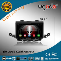 ugode new 2016 android car dvd player with built gps for opel astra