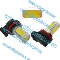 High quality h8 h4 h7 6W High Power LED Spotlight Lens H11 led auto light h10 h9 p13w fog lamp