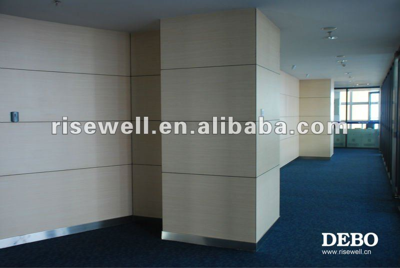 Covering interior wall paneling