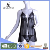 Most Beautiful Fitness Mature Lady Eco-friendly Hot Sale Very Sexy Womens Underwear Lingerie