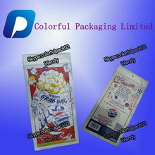 Customized three side explosion-proof plastic bag/hanger hole packaging gift bags