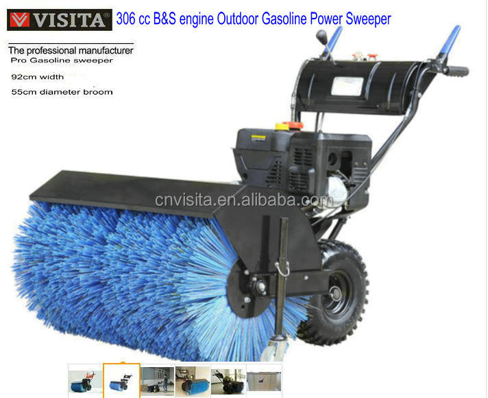 10hp B&S Engine Gasoline Power Sweeper/snow sweeper