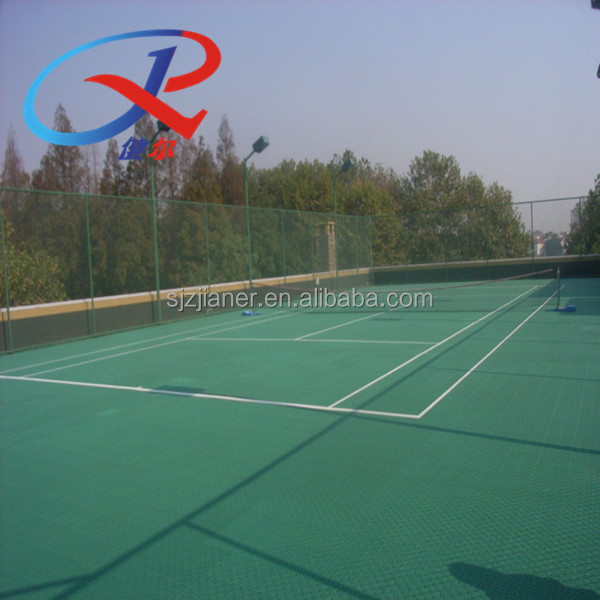 New Product !!! volleyball court pp interlock outdoor supply