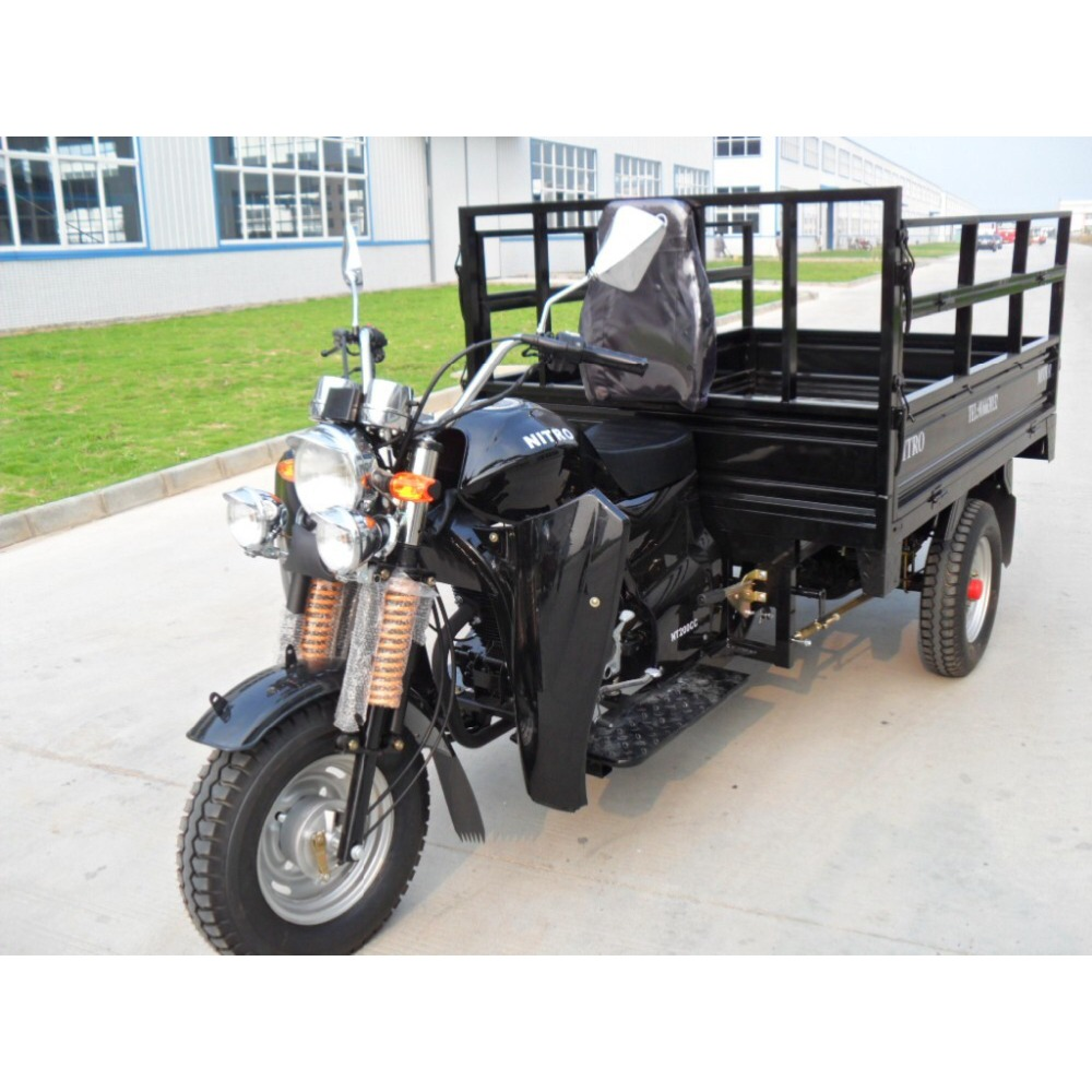 Durable cheap price 200cc cargo transport three wheel motorcycle