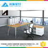 high quality name plate high tech executive office desk KL-02