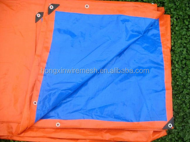 waterproof and fireproof tarpaulin with grommets factroy