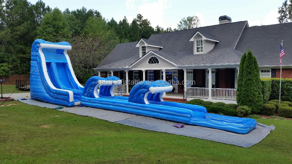 Commercial Grade Inflatable Water Slides/Giant Inflatable Water Slide,inflatable wave water slide