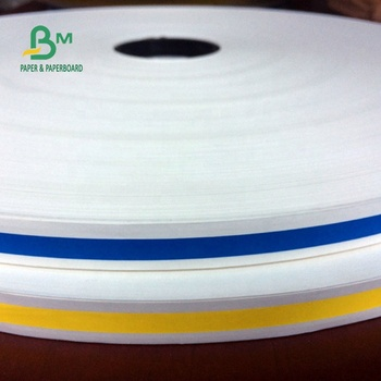 FDA Approved 120GSM Straw Middle And Inner Paper Roll 14.2MM to 600mm