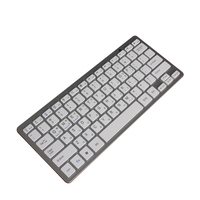 Support 3 system Cheap 78keys ABS mini wireless mobile phone keyboard bluetooth for tablet