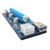 60cm high quality VER006C pci-e pci express riser card 1x to 16x usb 3.0 extension cable whth power supply for Bitcoin Mining