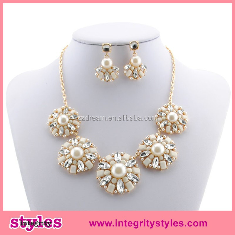 2015 new style fashionable necklace jewelry set