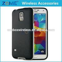 China Suppliers Hybrid Plain Mobile Phone PC Frame + TPU Cases For Samsung Galaxy S5