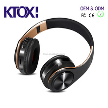 BT wireless headset with built-in mp3 palyer headphone for laptop