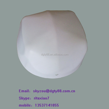 ABS material vacuum formed thick blister fireproof helmet of plastic