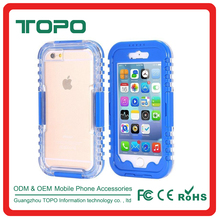 High quality ipx8 phone waterproof Screen Touch phone back cover Shockproof TPU+PC underwater fit case for iphone 6 6s plus