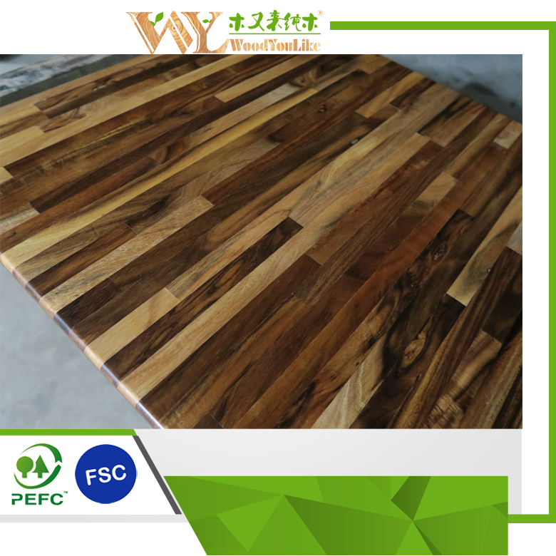 r el bois plans de travail de cuisine chine acacia asiatique noyer tops bloc de boucher. Black Bedroom Furniture Sets. Home Design Ideas