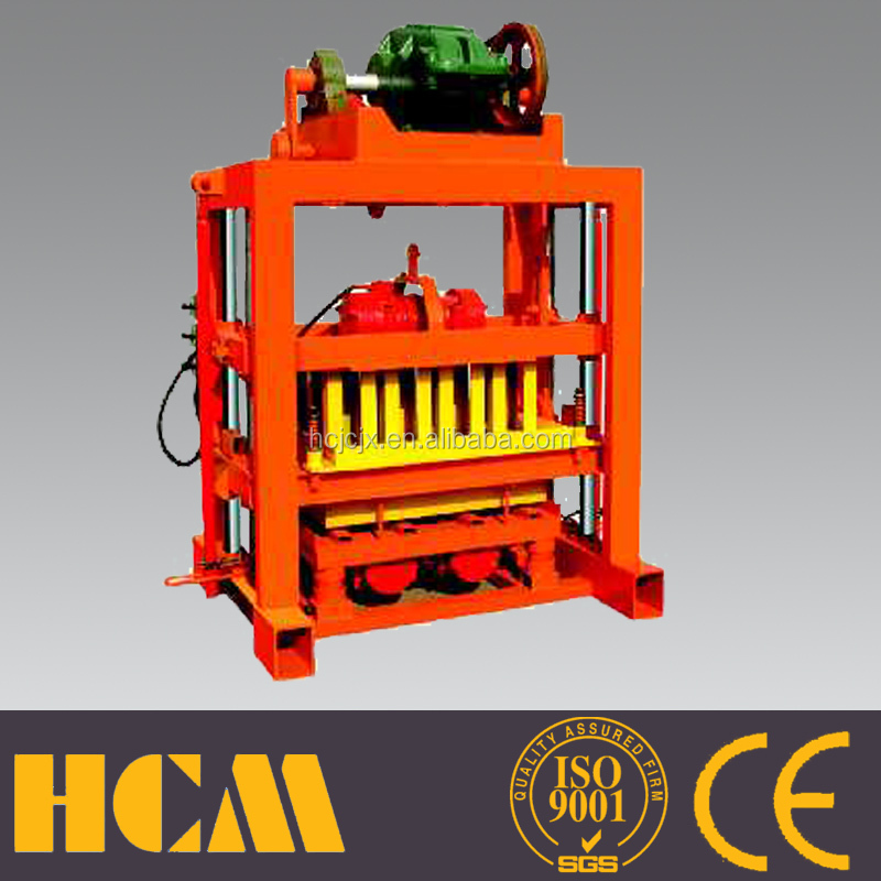 china new innovative product QTJ4-40 concrete block machine for Papua New Guinea