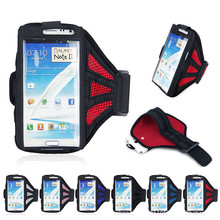 Workout Sport GYM ArmBand Case Cover Running Sports Armband for samsung galaxy note2 n7100