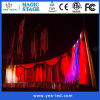 hd p8 outdoor led video display screen concert stage led screen panels