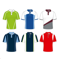 China factory OEM wholesale breathable American Style Polo tshirt for men custom rugby polo shirts