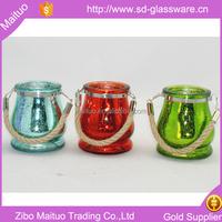 votive hanging tear drop glass lanterns candle holder