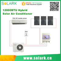 Sonow Brand of Solar Powered Full DC hybrid solar air conditioner 12000btu/1Ton/1.5HP