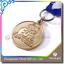 High quality engraved zinc alloy custom track and field medal