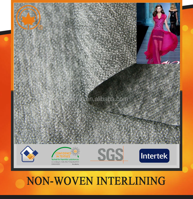 In china hot melt interlining for garment in china