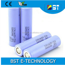 High Capacity for Samsung 32A SDI 18650 battery ICR18650-32A 3200mAh rechargeable battery cell
