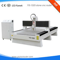 cnc marble glass engraving machinery 1325 cnc stone carving machine 3d can process hard material taiwan linear guide