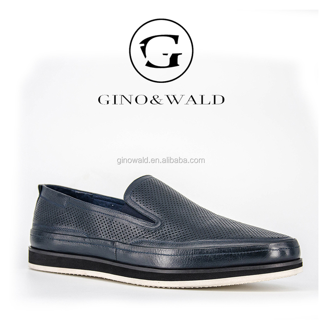 Italian men's leather shoes brands made in china mens footwear