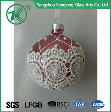 Personalized shatterproof christmas ball ornaments wholesale and decorations colorfully glass ball