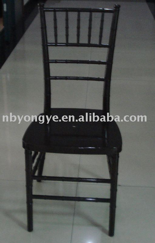 Chocolate Resin Chiavari Chair