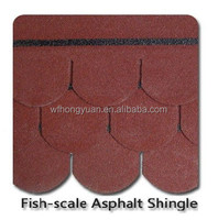 roof tile-5-Tab architectural colorful asphalt shingles/roofing tiles