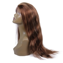 Premier natural Straight Malaysian human hair lace front wig with baby hair non synthetic lace front wig for black